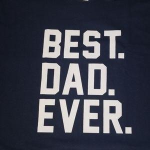 Best. Dad. Ever. Shirt 2XL Navy